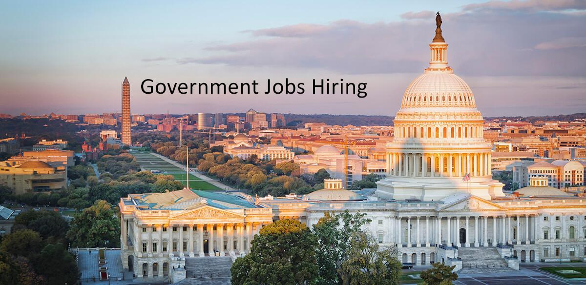 government jobs hiring